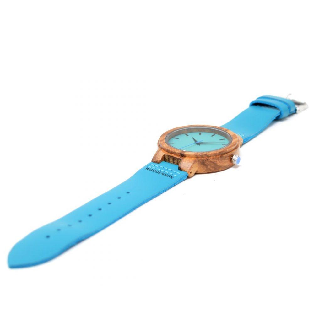 Reloj de Madera Bluebird