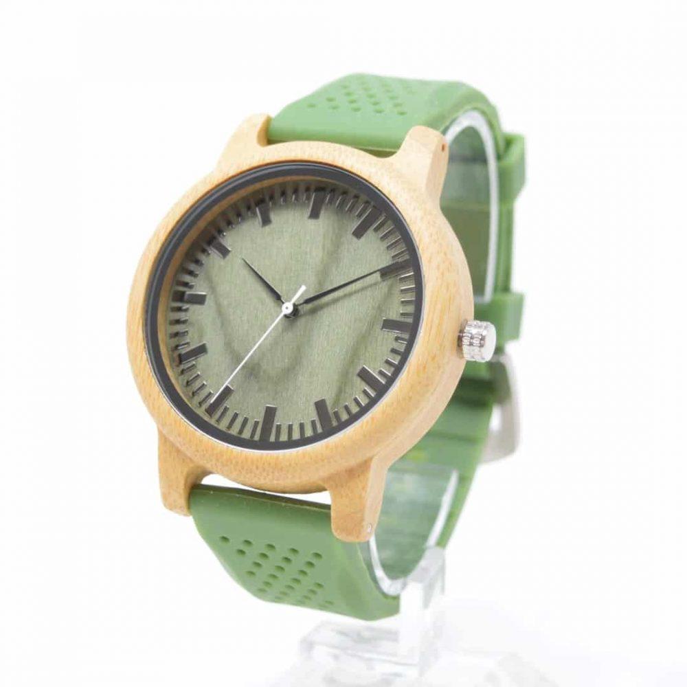 reloj de madera hope & go