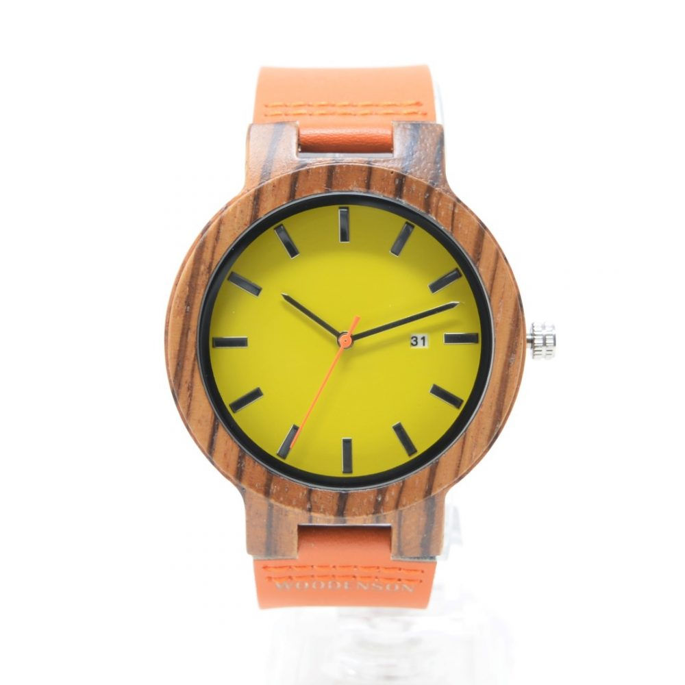 reloj de madera amaterasu nuevo