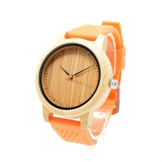 Reloj de bambú cockney