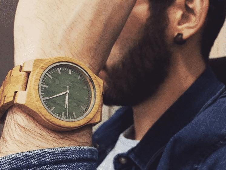 Relojes de madera para hombres